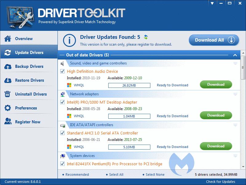 download driver toolkit 8.6  crack